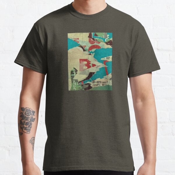Street Art Poster Collage / Abstract Art Classic T-Shirt