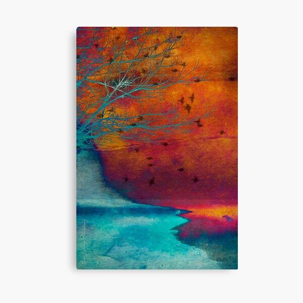 Into the Shore Canvas Print