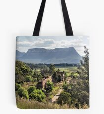 Shale Works - Glen Davis NSW Australia Tote Bag