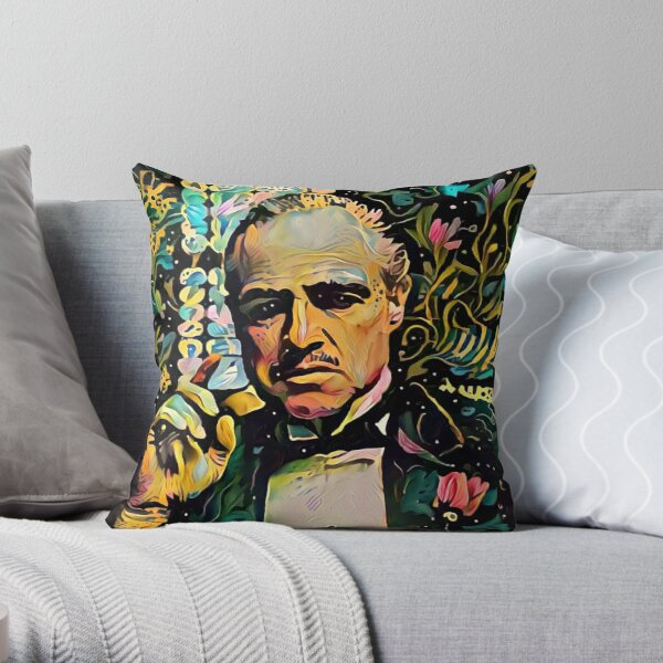 Abstract of Godfather Throw Pillow