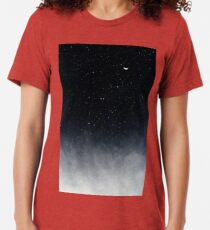 Camiseta de tejido mixto Después de morir