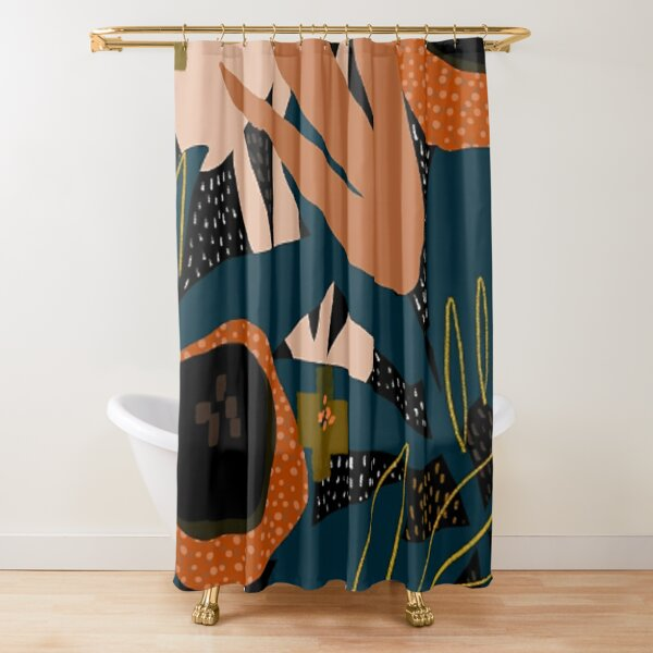 cafe Shower Curtain