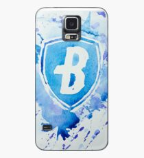 Blue Coats DCI Watercolor Logo Case/Skin for Samsung Galaxy