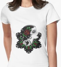 vintage beauty Women's Fitted T-Shirt