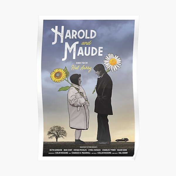Harold and Maude alternative movie poster Poster