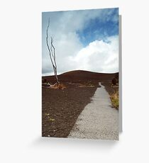 Devastation Trail Greeting Card