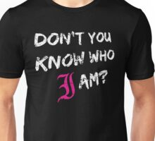 Every Time I Die - Don't You Know Who I Am? (White) Unisex T-Shirt