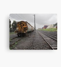 trackside Canvas Print