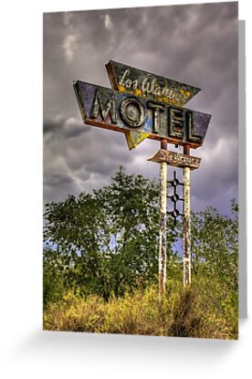 Los Alamos Motel on Route 66 by Bill Wetmore