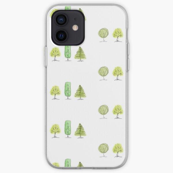 Amante de los árboles Funda blanda para iPhone