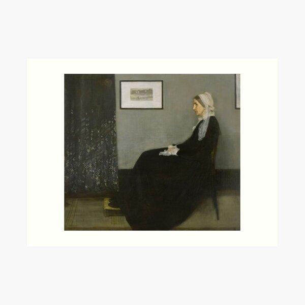 Whistlers Mother - James Abbott McNeill Art Print