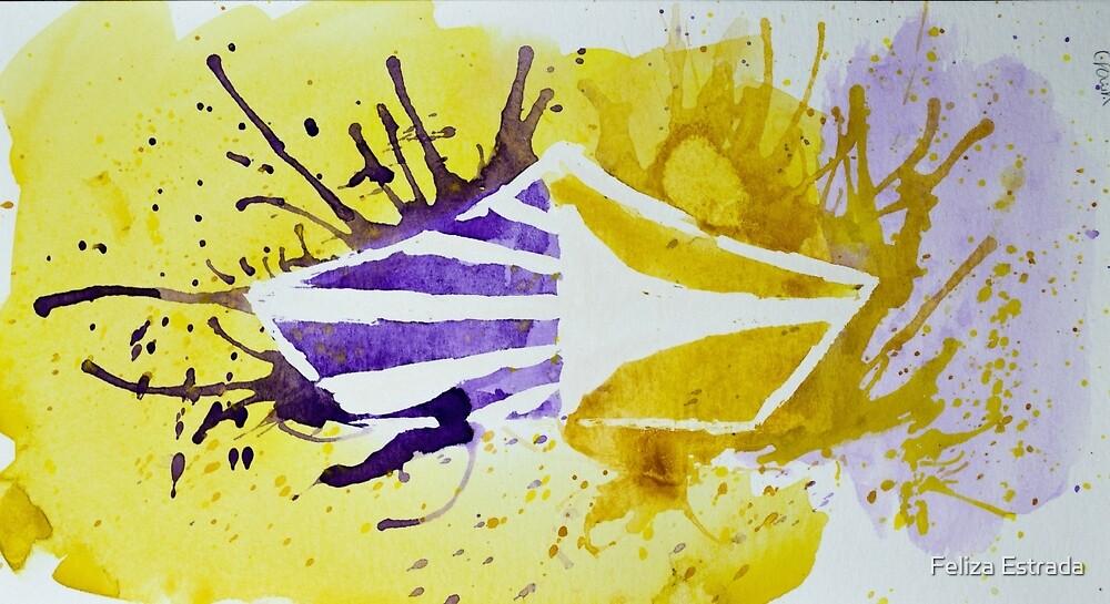 Carolina Crown DCI Watercolor Logo by Feliza Estrada