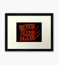 Elm had a Nightmare  Framed Print