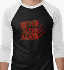 Elm had a Nightmare  Men's Baseball ¾ T-Shirt