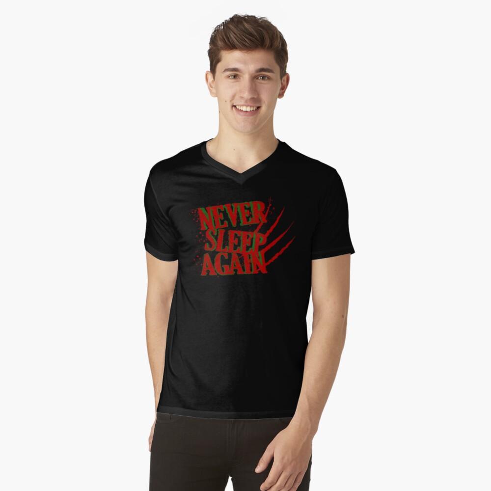Elm had a Nightmare  Mens V-Neck T-Shirt Front