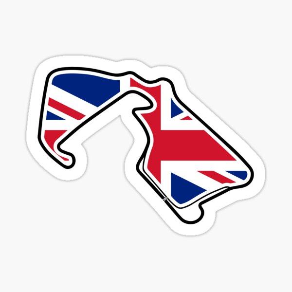 Great Britian Silverstone F1 Circuit Sticker