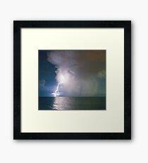Atlantic storm 02 Framed Print