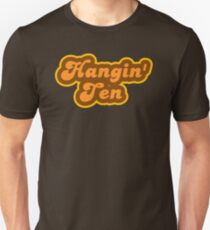 Hangin' Ten - Retro 70s - Logo Unisex T-Shirt