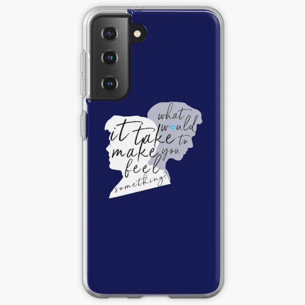 "Reed900 - Detroit Evolution - ""What Would It Take To Make You Feel Something?"" Silhouette Art Samsung Galaxy Soft Case"