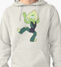 Clingy Peridot Pullover Hoodie