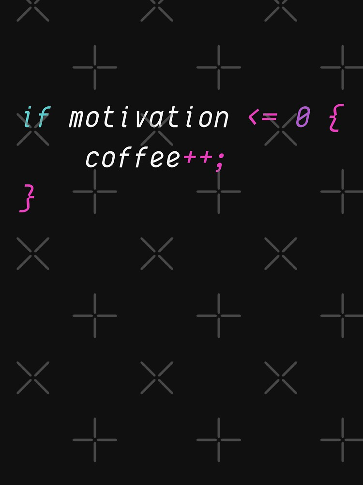 Code & Coffee. Motivation.  by ninjainatux