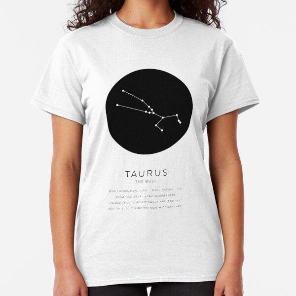 Taurus Constellation Classic T-Shirt