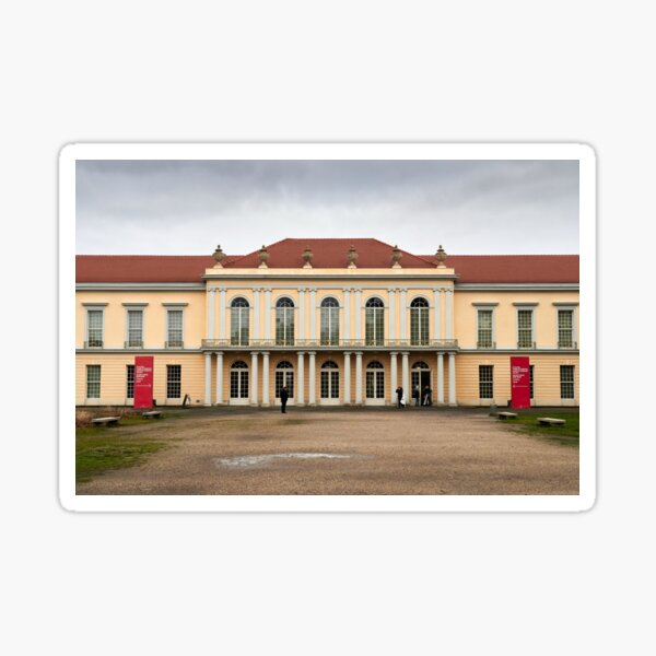 Schloss Charlottenburg New Wing.Berlin Sticker