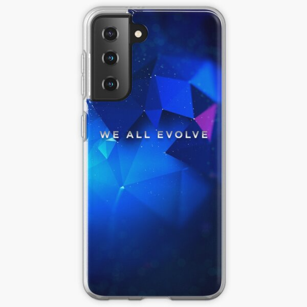 "Detroit Evolution - ""We All Evolve"" tagline  Samsung Galaxy Soft Case"