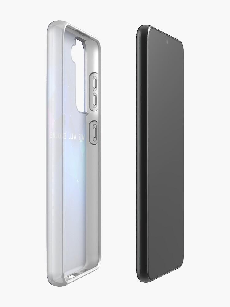 "Alternate view of Detroit Evolution - ""We All Evolve"" tagline  Case & Skin for Samsung Galaxy"