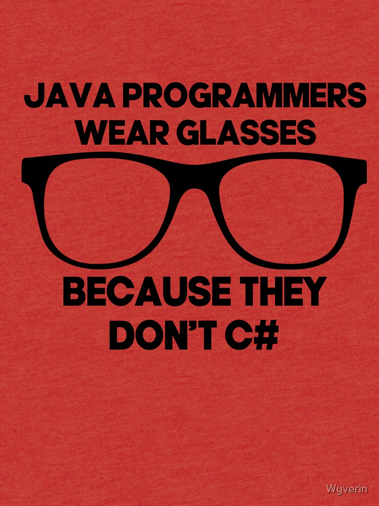 Are Java Programmers C#? by Wyverin