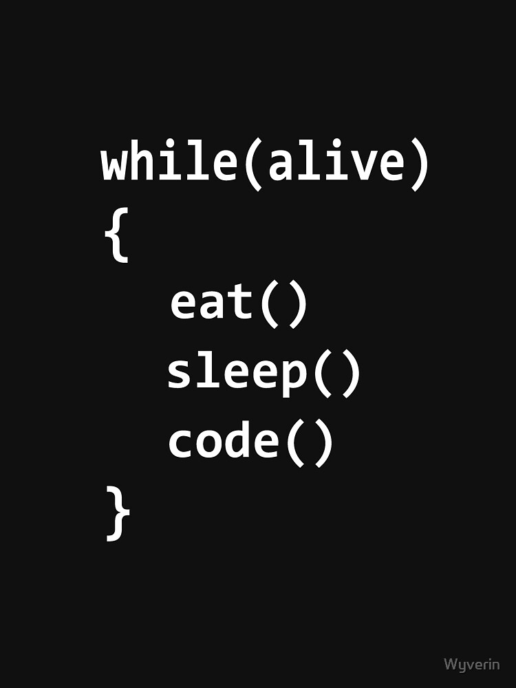 Born to code by Wyverin