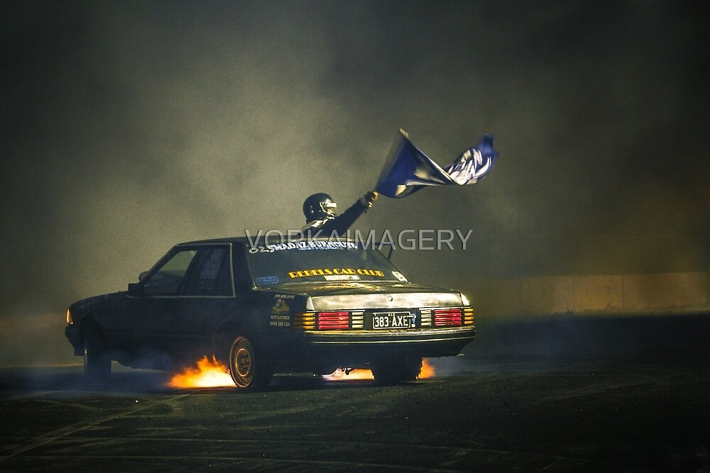 383AXE Burnout at Asponats by VORKAIMAGERY