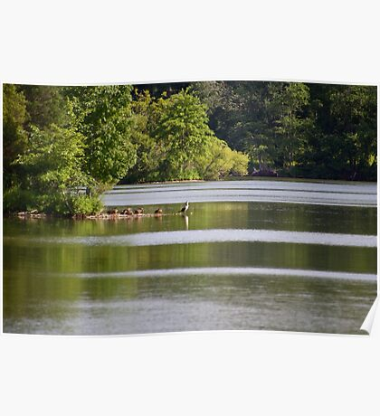 Green Lane Reservoir - Red Hill - Pennsylvania USA Poster