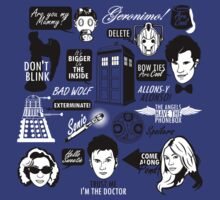 TShirtGifter Presents: Doctor Who Quotes