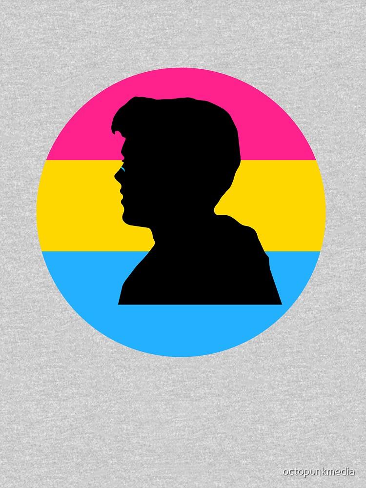 Pansexual Flag Gavin Reed by octopunkmedia