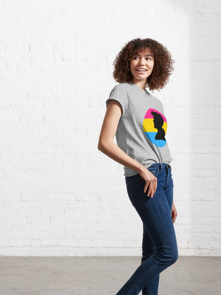 Alternate view of Pansexual Flag Gavin Reed Classic T-Shirt
