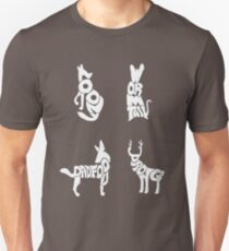 Moony, Wormtail, Padfoot & Prongs T-Shirt