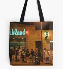Beachland Ballroom Streetscape Tote Bag