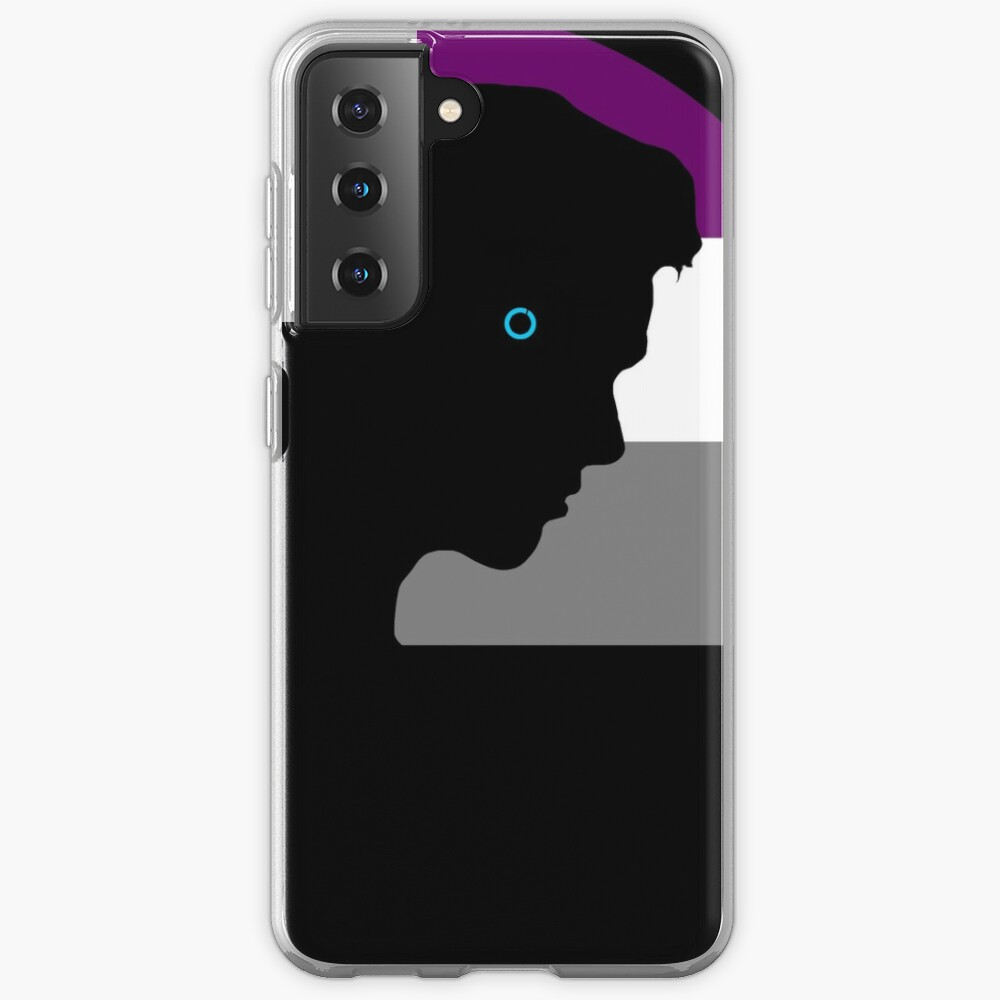 RK900 / Nines Asexual Flag Case & Skin for Samsung Galaxy