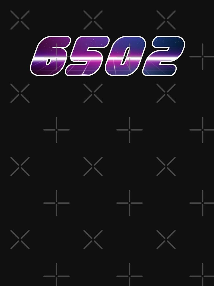 Assembly 6502 Retro Wave by ninjainatux