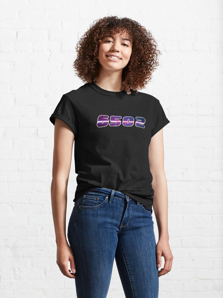 Alternate view of Assembly 6502 Retro Wave Classic T-Shirt