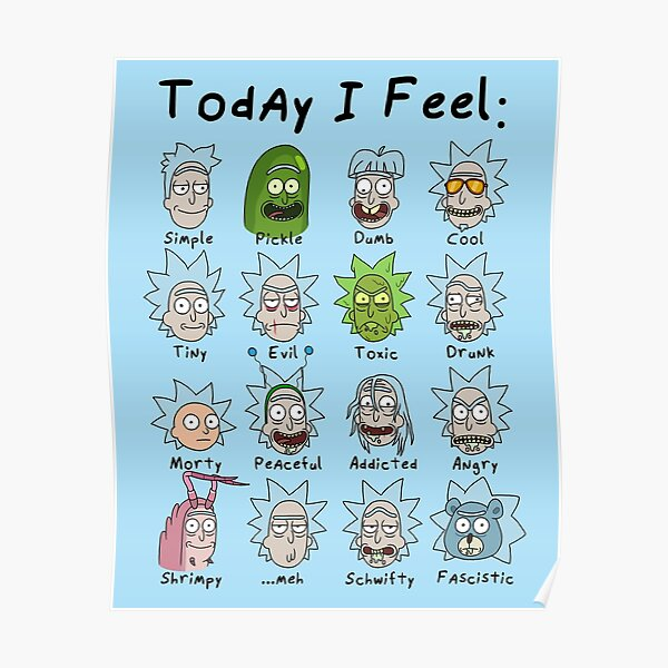 Today I Feel Rick Poster