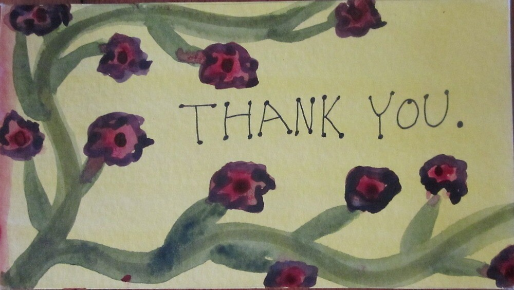 thank you by GreenFireSpirit