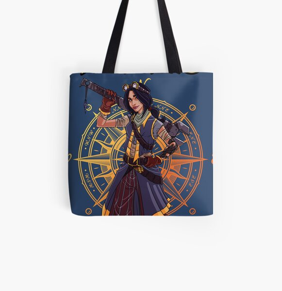 """Mel """"The Engineer"""" All Over Print Tote Bag"""