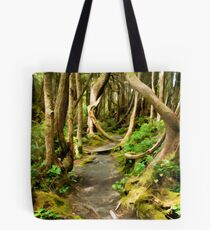 Twists in the path Simplified Tote Bag
