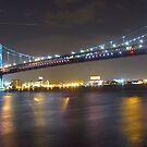 Ben Franklin Bridge, Philadelphia, PA by Schuyler L