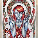 Dark Elven Magdalene by AlexKujawa