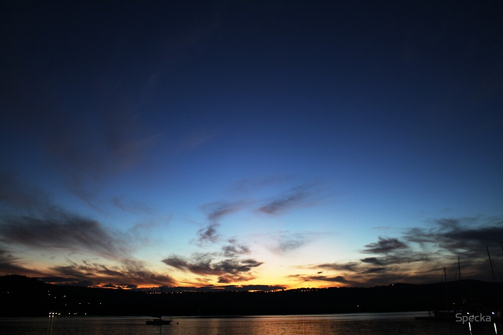 End of the day by Specka