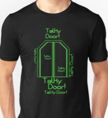 """Talky Door!"" - Hyperdrive Unisex T-Shirt"