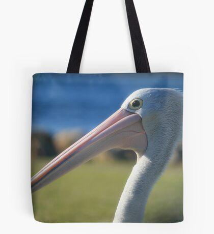Elder Statesman, Pelican at Greenwell Point Tote Bag